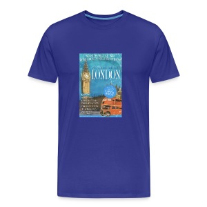 Taff Tourism: London (swear free) - Men's Premium T-Shirt