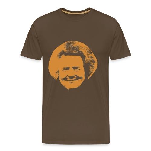 Speciaal Koningshirt Wim Lex met Bea-haar! - Mannen Premium T-shirt