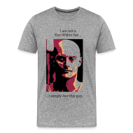 T-Shirts ~ Men's Premium T-Shirt ~ Not a Ken Wilber fan...
