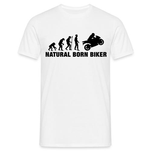 natural biker - T-shirt herr
