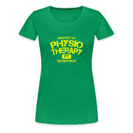 T-Shirts ~ Frauen Premium T-Shirt ~ PT Department Physiotherapie