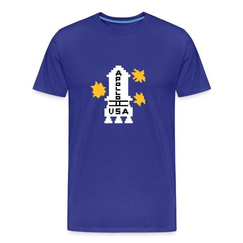 WRZ_53_SHIRT_APOLLO - Männer Premium T-Shirt