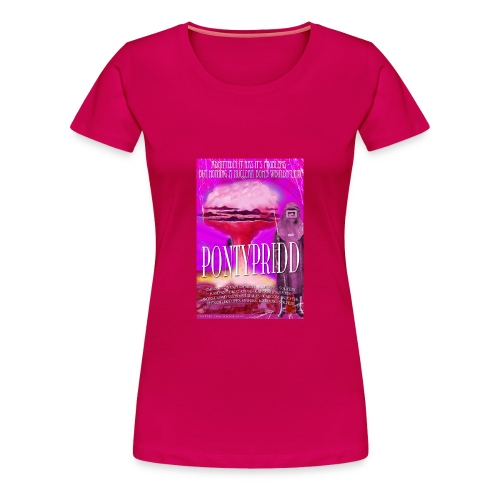 LADIES Taff Tourism: Pontypridd - Women's Premium T-Shirt