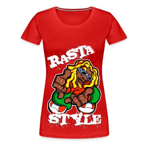 Rasta Style - T-shirt Premium Femme