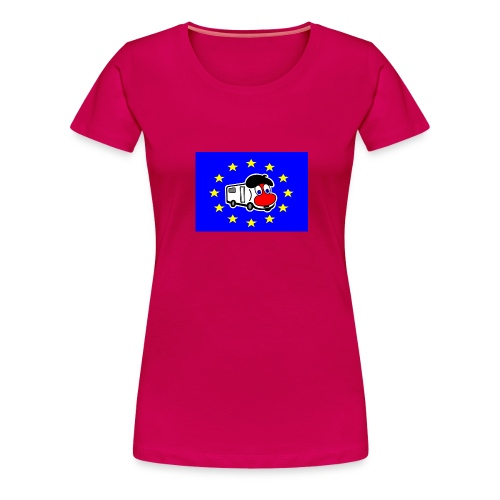 T-shirt  Camping-Cariste Européen pour Madame - T-shirt Premium Femme