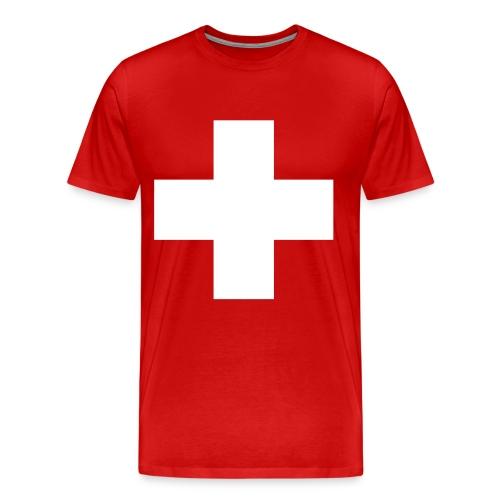 Croix Suisse - Men's Premium T-Shirt