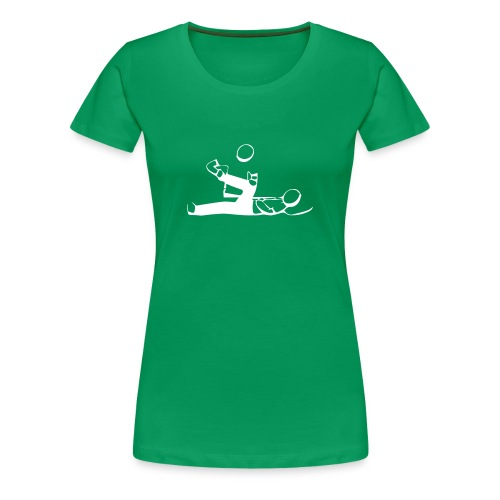 Physiotherapie Ligamenta cruciata - Frauen Premium T-Shirt