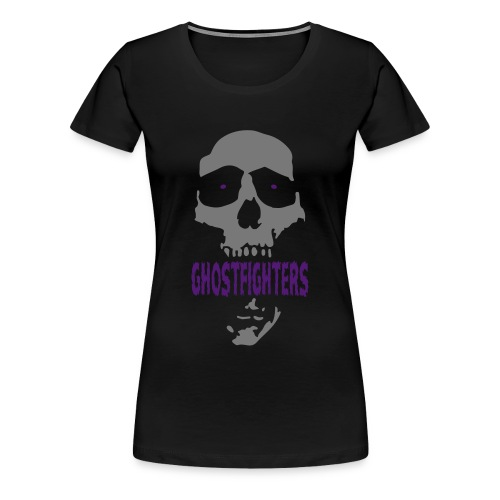 GHOSTFIGHTERS - Schädel - Frauen Premium T-Shirt