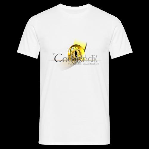 Logo Griffe Tolkiendil Digitale T-Shirt Homme Couleur - T-shirt Homme