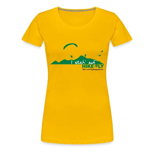 Hike & Fly - Frauen Premium T-Shirt