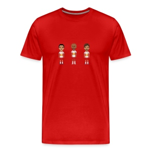 Men T-Shirt - New York soccer trio - Men's Premium T-Shirt