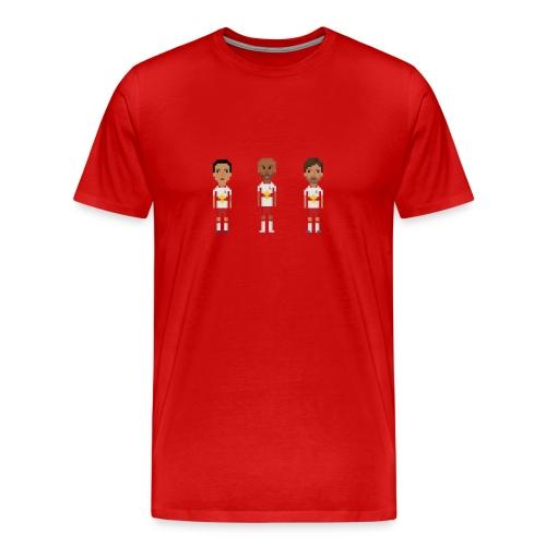 Men T-Shirt - New York soccer trio - Men's Premium T-Shirt