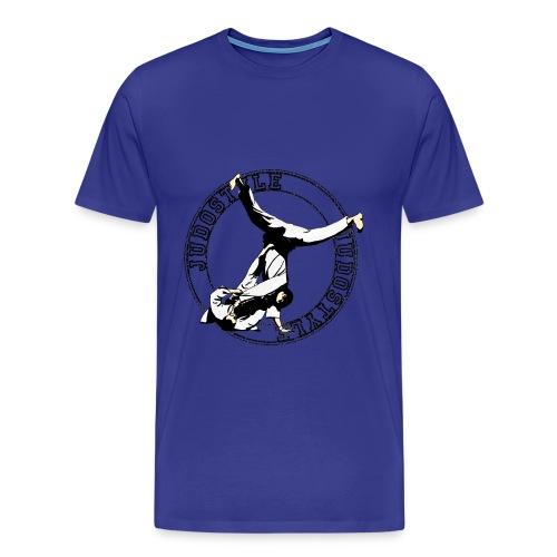 yoko cercle ventre judo dos classique - T-shirt Premium Homme