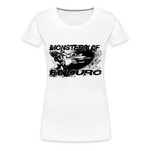 Monsters of Enduro No11 - Frauen Premium T-Shirt