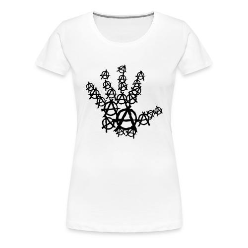 Main logo Anarchy Breizh Pirate - T-shirt Premium Femme