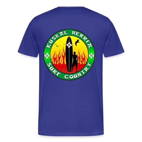 Pays Basque surf - Men's Premium T-Shirt