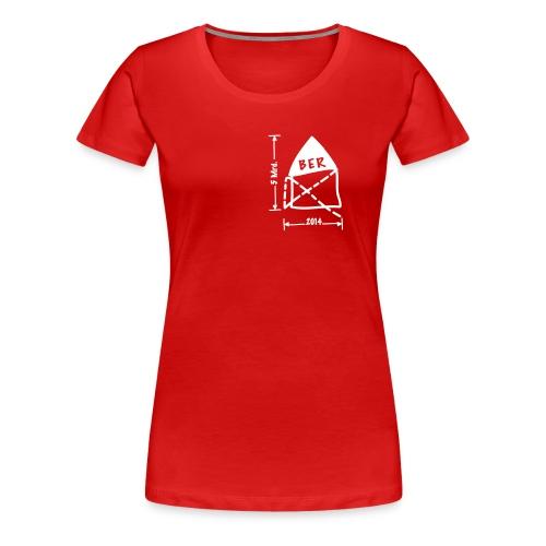 BER Planungsskizze - Frauen Premium T-Shirt