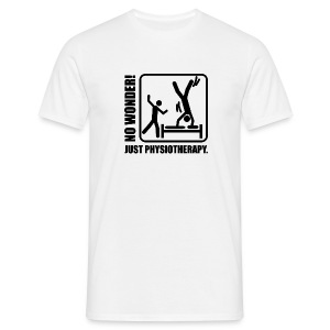 No Wonder. Just Physiotherapie. - Männer T-Shirt