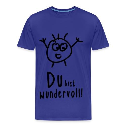 Du bist wundervoll! - Männer Premium T-Shirt