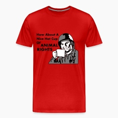 Soldier How About A Nice Hot Cup of ANIMAL RIGHTS T-Shirts