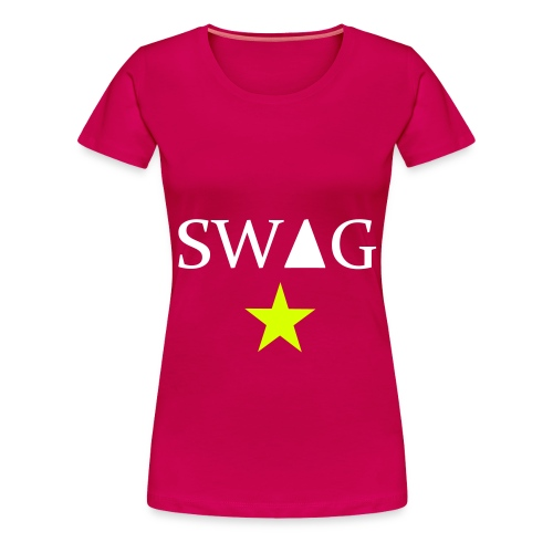 swag shirt with star (women) - Vrouwen Premium T-shirt