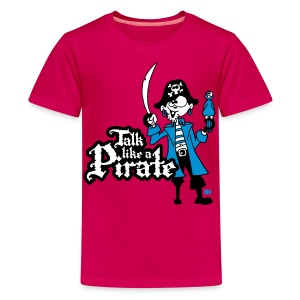 Talk like a Pirate T-shirts - Teenager Premium T-shirt