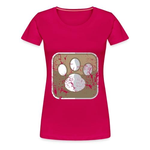 paw - Maglietta Premium da donna