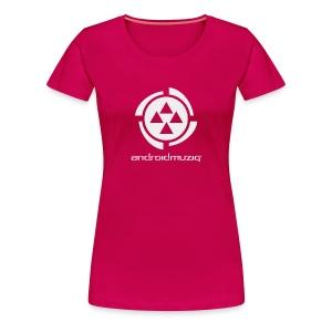 Android Muziq Girl - Women's Premium T-Shirt