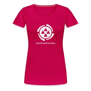 Android Muziq Girl - Women's Premium T-Shirt
