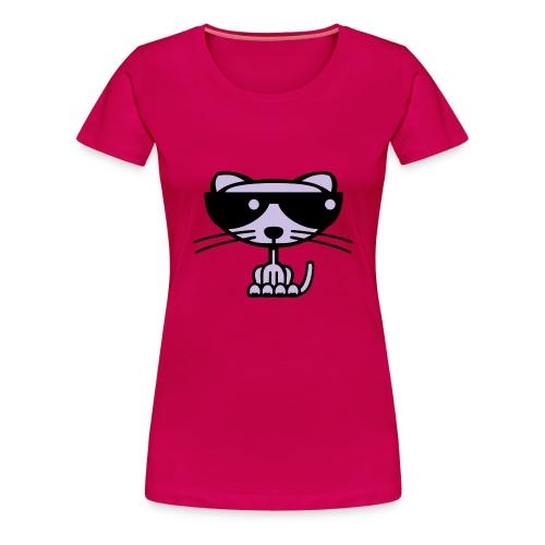 Cool Cat - Frauen Premium T-Shirt