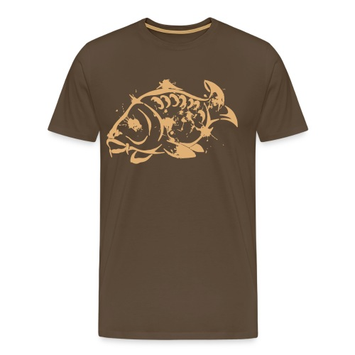 Grunge Carp T-shirt - Men's Premium T-Shirt