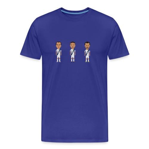 Men T-Shirt - Los Angeles soccer trio - Men's Premium T-Shirt