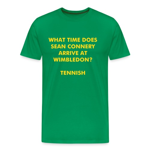Sean Connery - Men's Premium T-Shirt