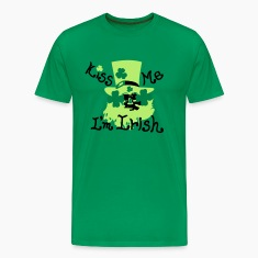Kiss Me I'm Irish st.patty's day Men's Classic T-S