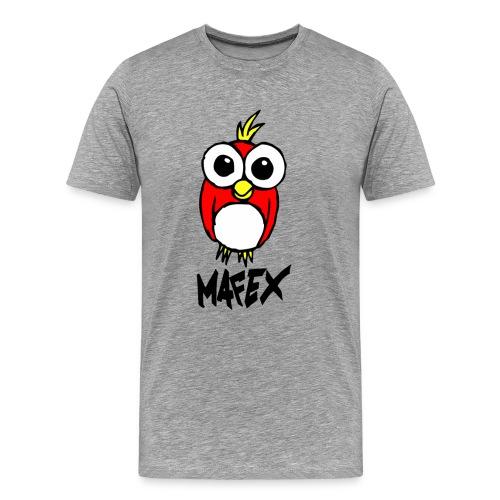 Vogel grau - Männer Premium T-Shirt