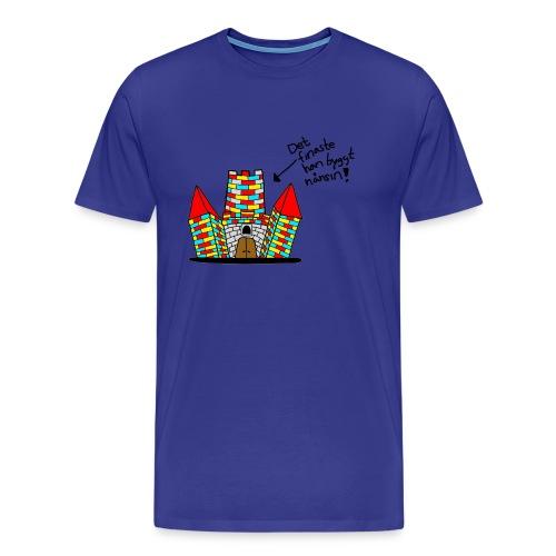 Det finaste - Premium-T-shirt herr