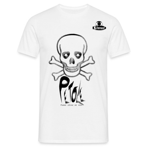 T-shirt  kitesurf Kitenaut Petole - T-shirt Homme
