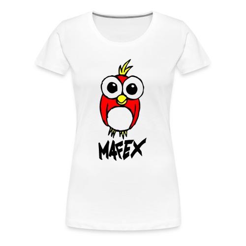 Vogel weiß - Frauen Premium T-Shirt