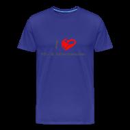 T-Shirts ~ Männer Premium T-Shirt ~ I love Mitmenschen