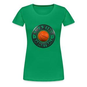 Amazing Basketball - T-shirt Premium Femme