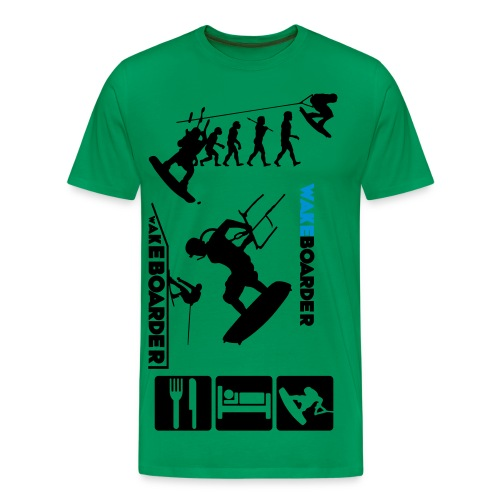 The Ultimate wakeboarder  - Men's Premium T-Shirt