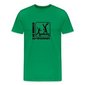 No Wonder. Just Physiotherapie. - Männer Premium T-Shirt