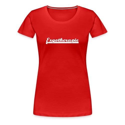 Ergotherapie Teamsport - Frauen Premium T-Shirt