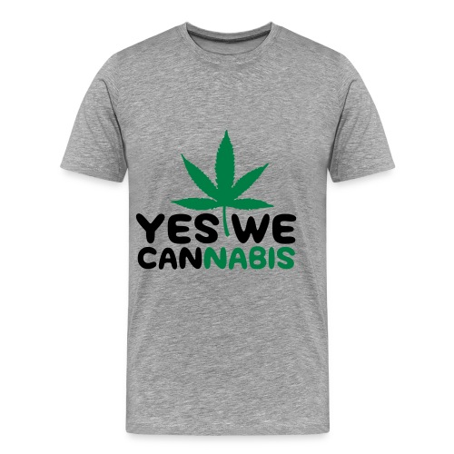 yes we cannabis - T-shirt Premium Homme