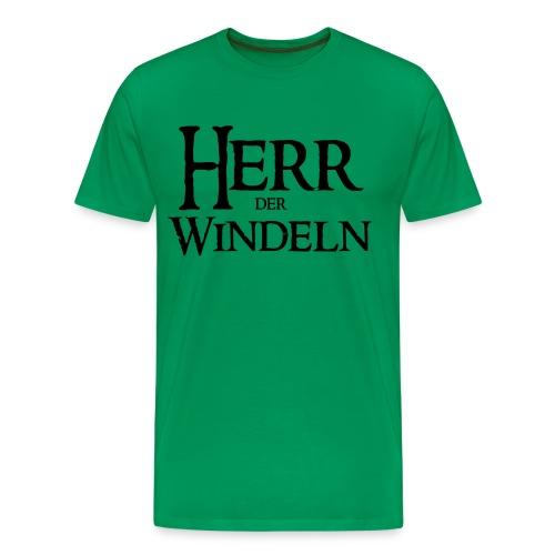 Herr der Windeln - Männer Premium T-Shirt
