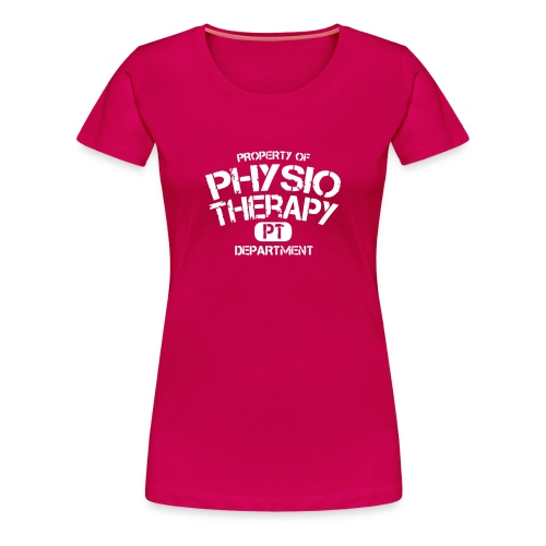 PT Department Physiotherapie - Frauen Premium T-Shirt