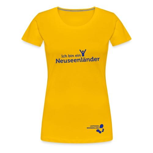 Frauen Premium T-Shirt Neuseenländer - Frauen Premium T-Shirt