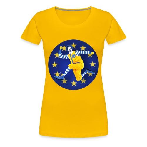 T-SHIRT standard femme Mc do euro - T-shirt Premium Femme