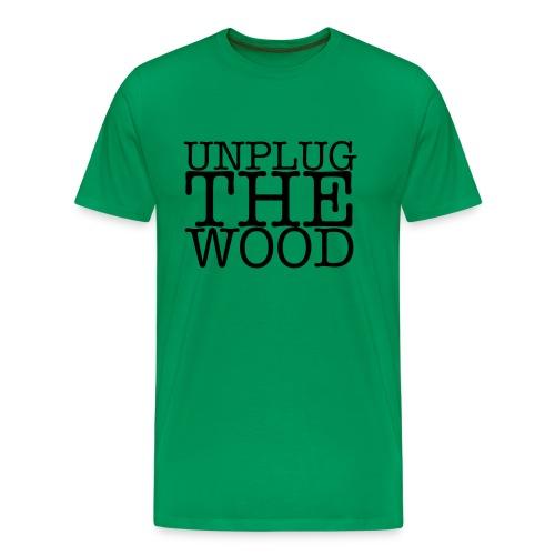 UnplugTheWood Big Standard T - Men's Premium T-Shirt