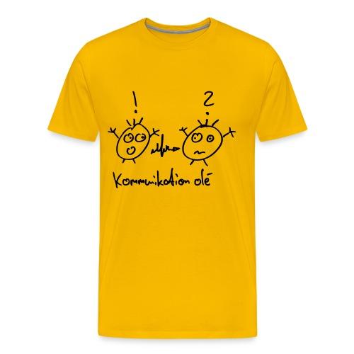 Kommunikation Olé - Männer Premium T-Shirt